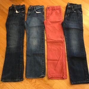 Boys GAP Kids & 1969 Jeans Sz 14 Reg / 4 prs total